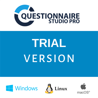 Trial-version Expasys Questionnaire Studio Pro